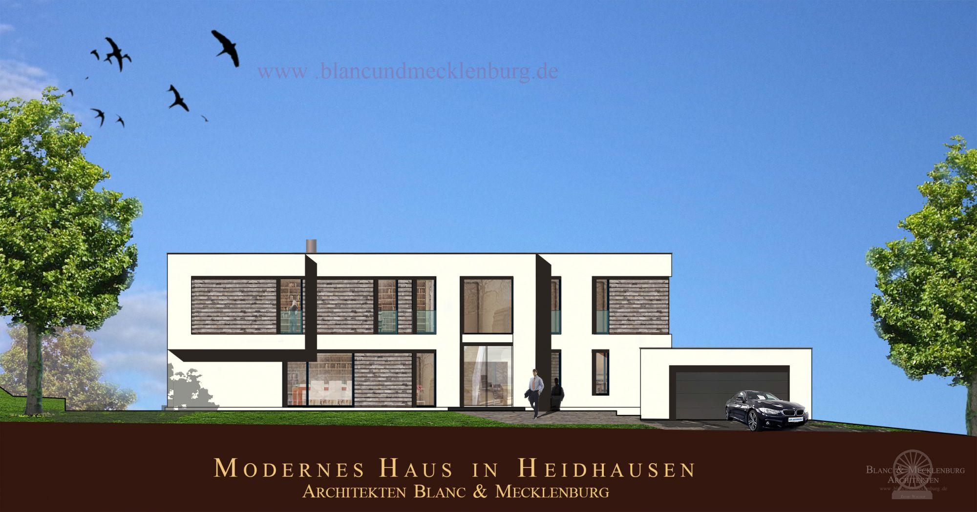 Modernes Haus in Heidhausen - Architekten Blanc & Mecklenburg
